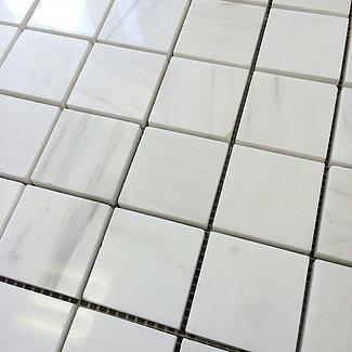 "Bianco Dolomiti: 2"" x 2"" Mosaic"